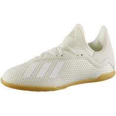 adidas X TANGO 18.3 IN J Fußballschuhe Kinder off white