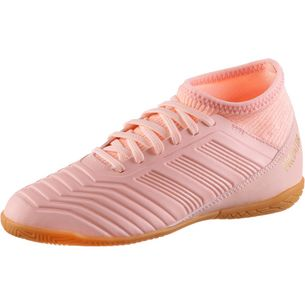 adidas PREDATOR TANGO 18.3 IN J Fußballschuhe Kinder clear orange