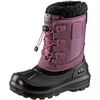Viking Istind Winterschuhe Kinder dark pink-black