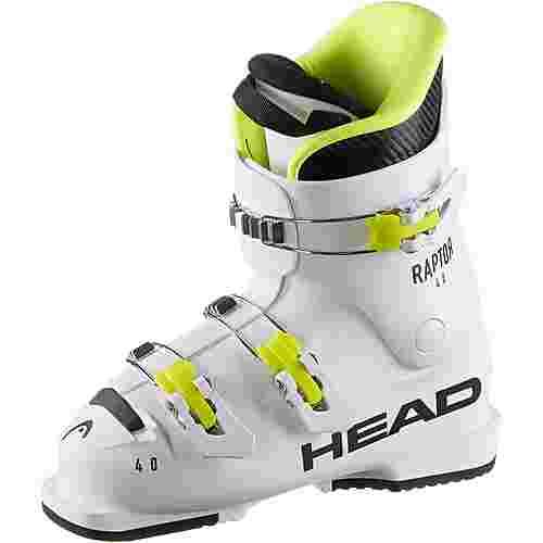 HEAD Raptor 40 Skischuhe Kinder weiß/schwarz/gelb