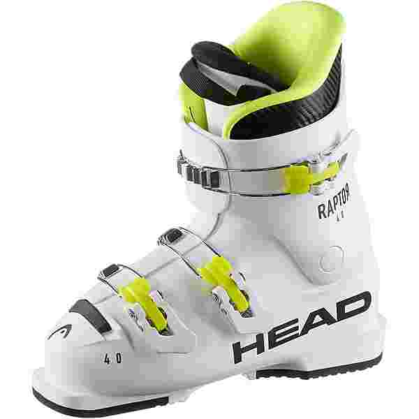 HEAD Raptor 40 Skischuhe Kinder weiß-schwarz-gelb