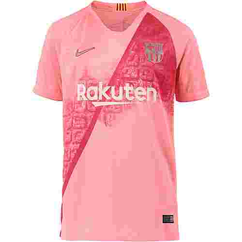 Nike FC Barcelona 18/19 CL Fußballtrikot Kinder lt atomic pink-silver