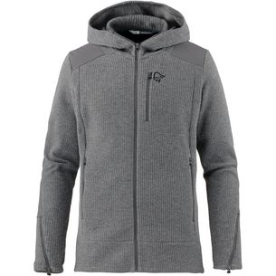 Norrøna tamok warm/wool2 Strickjacke Herren grey