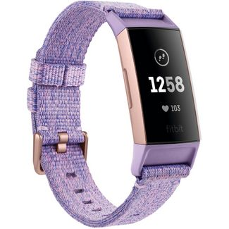 FitBit Charge 3 Special Fitness Tracker lavender woven