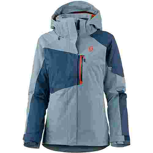 SCOTT Ultimate Snowboardjacke Damen denim blue-blue haze