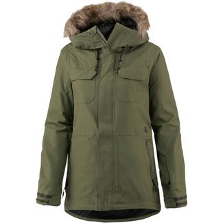 Volcom Shadow Snowboardjacke Damen military