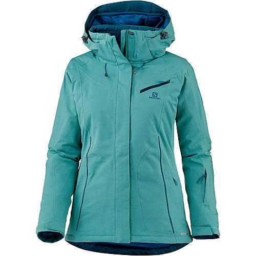 Salomon FANTASY Skijacke Damen waterfall heather im Online Shop von SportScheck kaufen MZX0h