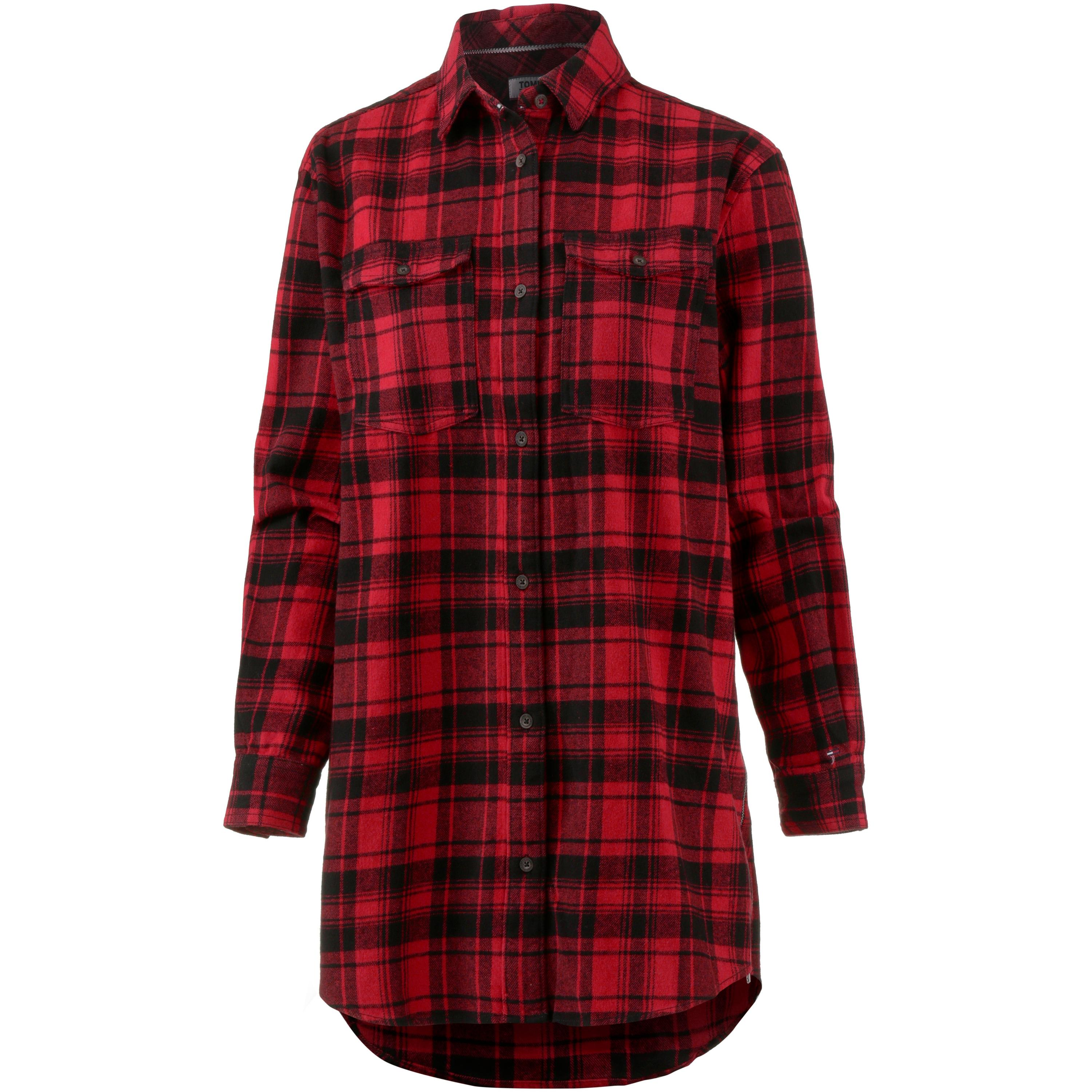 Tommy Jeans Check Shirt Langarmhemd Damen