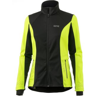 GORE® WEAR R5 Laufjacke Damen black-neon yellow