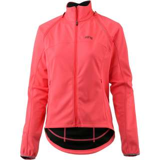 GORE® WEAR C3 Gore Windstopper Phantom Jacket Fahrradjacke Damen lumi orange