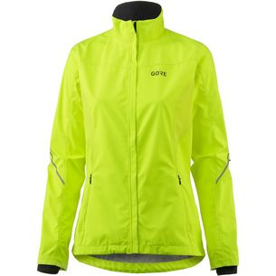 GORE® WEAR R3 Partial Laufjacke Damen neon yellow