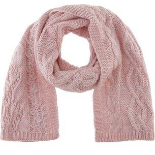 Superdry Strickschal Damen sandy pink twist
