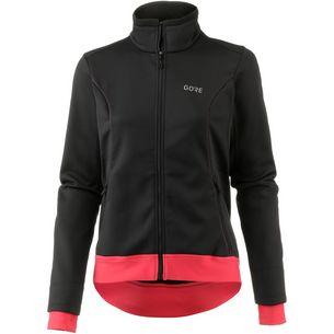 GORE® WEAR C3 Gore Windstopper Thermo Jacket Fahrradjacke Damen black/hibiscus pink