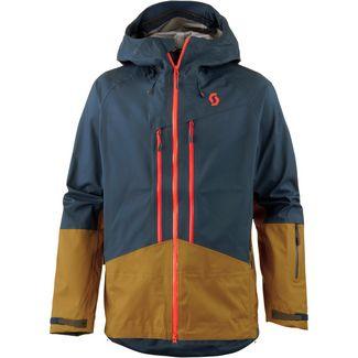 e50052a714 SCOTT Explorair Snowboardjacke Herren nightfall blue-tobacco brown