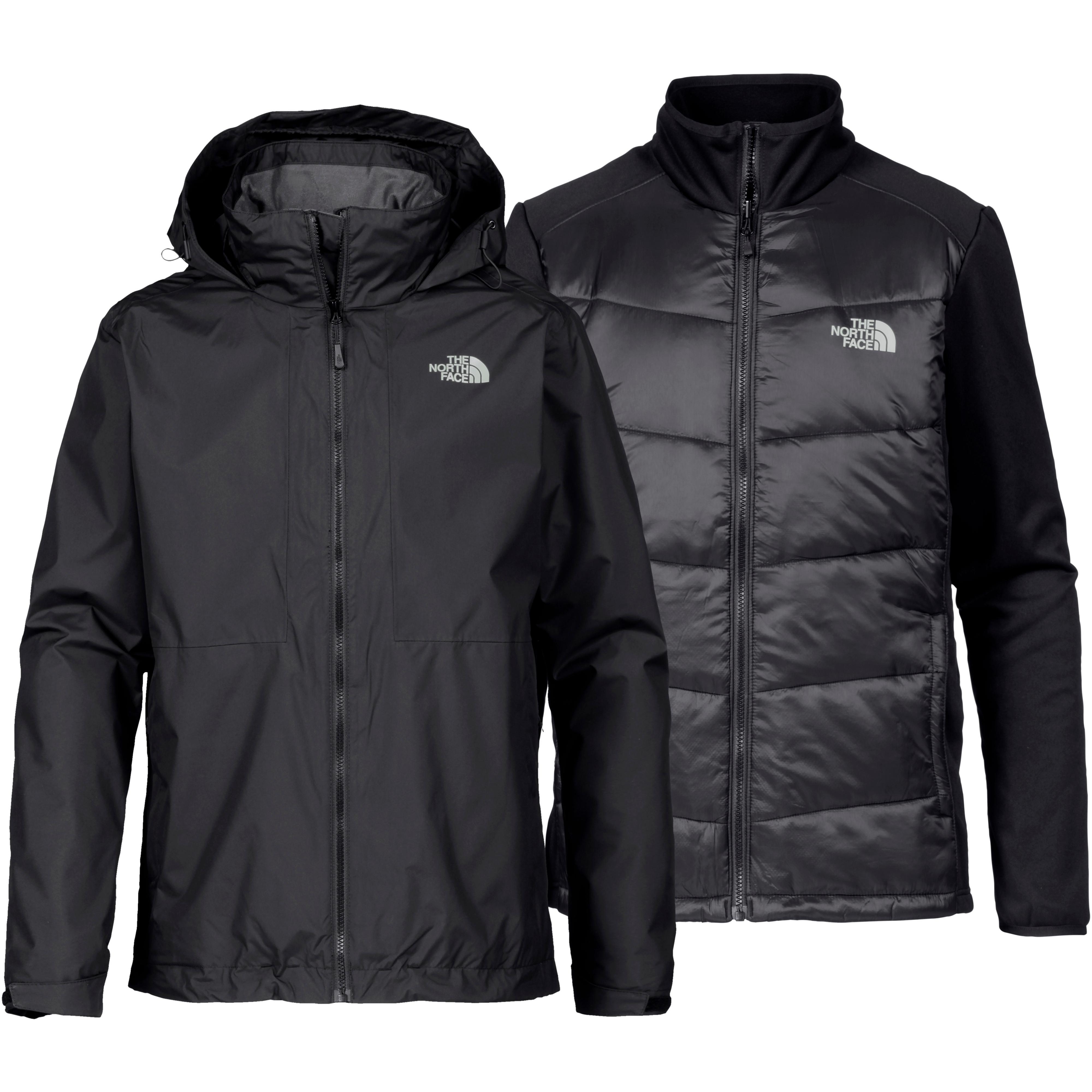 The North Face ARASHI II Doppeljacke Herren TNF Black im Online Shop von SportScheck kaufen