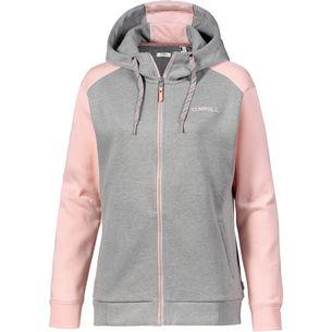 O'NEILL Sweatjacke Damen grey aop w- pink