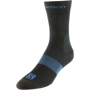 Salomon Outpath Mid Wandersocken Herren black-moroccan blue