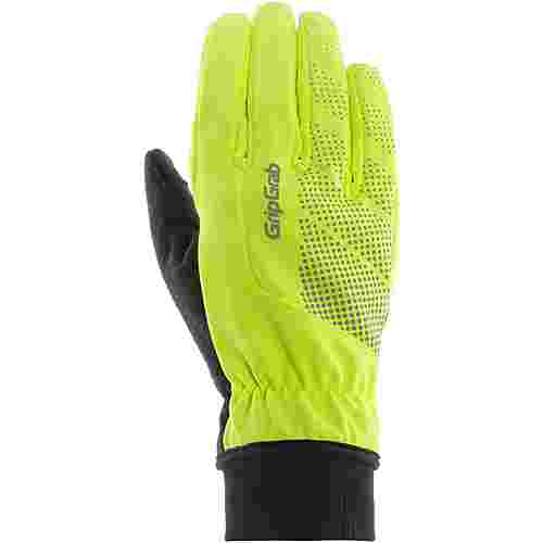 GripGrab Ride Windproof Hi-Vis Thermal Fahrradhandschuhe fluo yellow