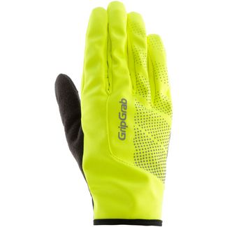 GripGrab Ride Windproof Hi-Vis Fahrradhandschuhe fluo yellow