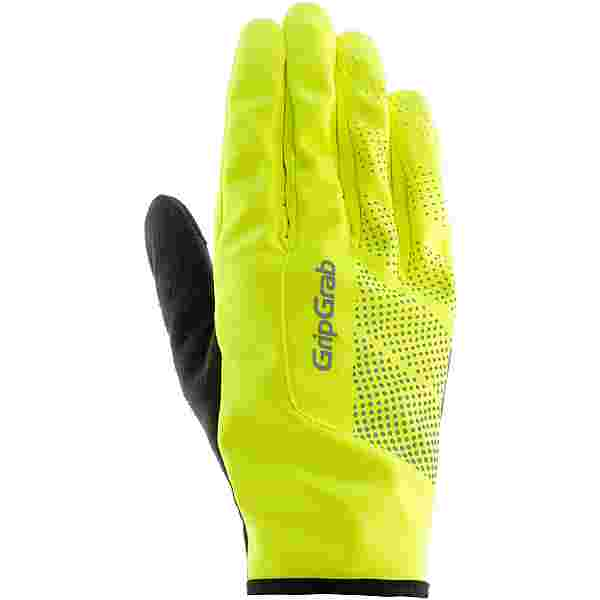 GripGrab Ride Windproof Hi-Vis Fahrradhandschuhe fluo yellow