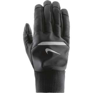 Nike Shield Laufhandschuhe Herren black-wolf grey-silver
