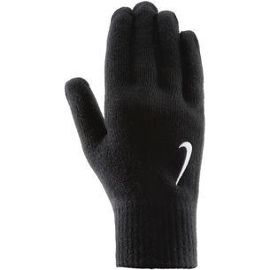 Nike Swoosh Knit Fingerhandschuhe black-white