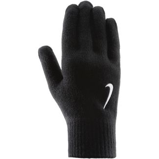 Nike Swoosh Knit Fingerhandschuhe black-white