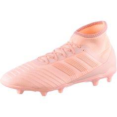 adidas PREDATOR 18.2 FG Fußballschuhe Herren clear orange