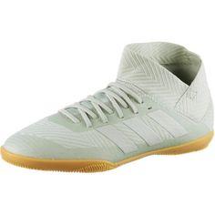 adidas NEMEZIZ TANGO 18.3 IN J Fußballschuhe Kinder ash silver