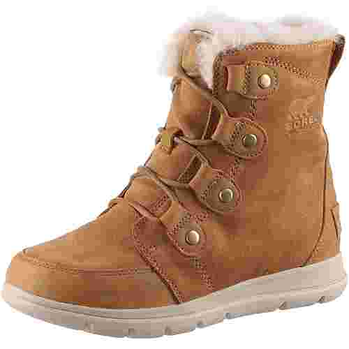 Sorel Explorer Joan Winterschuhe Damen camel brown-ancient fossil