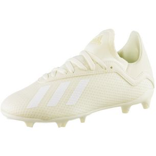 adidas X 18.3 FG J Fußballschuhe Kinder off white