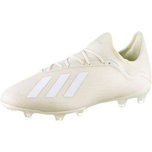 adidas X 18.2 FG Fußballschuhe Herren off white
