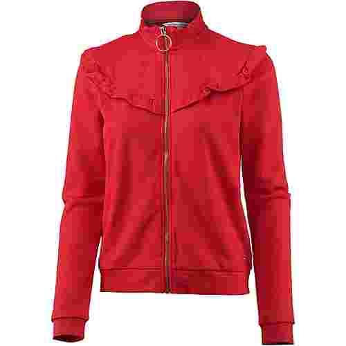 TOM TAILOR Sweatjacke Damen scarlet red
