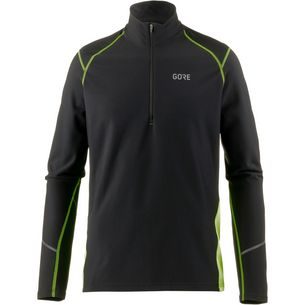 GORE® WEAR R3 Thermo Laufshirt Herren black-neon-yellow