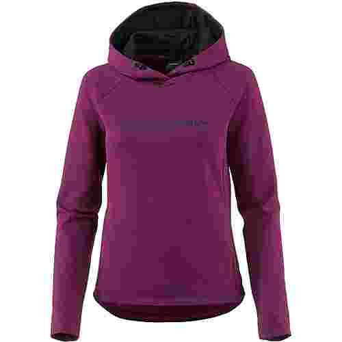Peak Performance Pulse Hoodie Damen blood cherry