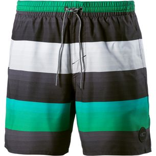 O'NEILL Mid Vert Badeshorts Herren grey aop-green