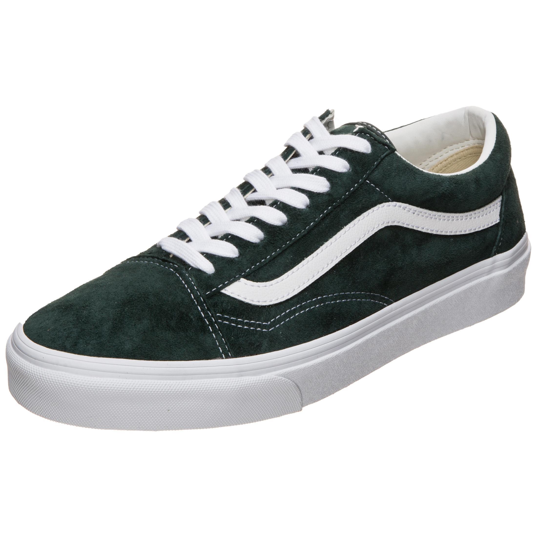 Vans Old Skool Sneaker Herren dunkelgrün / weiß im Online Shop von SportScheck kaufen