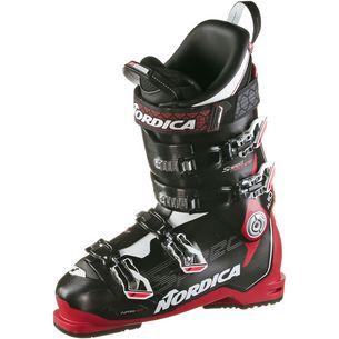 Nordica SPEEDMACHINE 110 X Skischuhe Herren BLACK-RED-WHITE