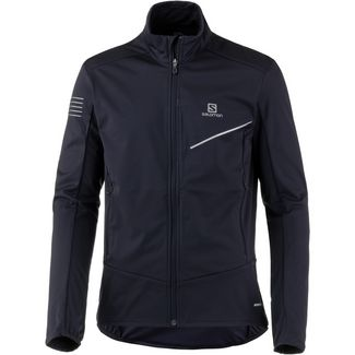 Salomon Softshelljacke Herren night sky