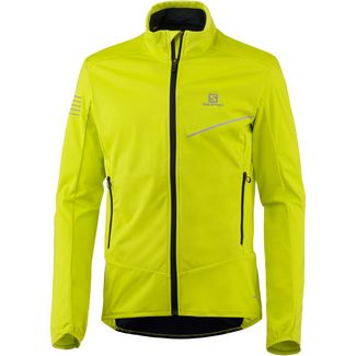 Salomon Softshelljacke Herren sulphur spring-night sky