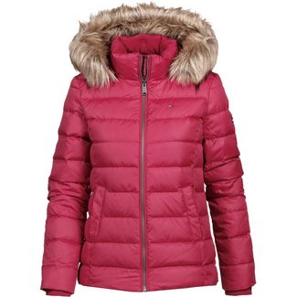 Tommy Jeans Down Jacket Daunenjacke Damen rumba-red