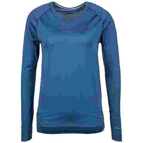 ASICS Seamless Laufshirt Damen blau