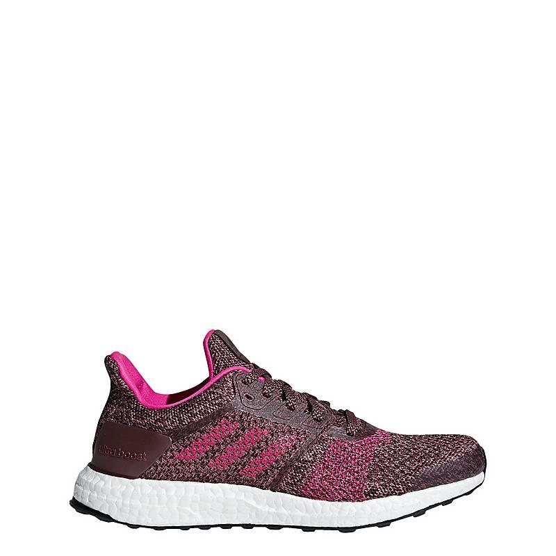 size 40 dbfec 9d083 adidas UltraBOOST ST Laufschuhe Damen Night Red  Shock Pink  Trace Maroon