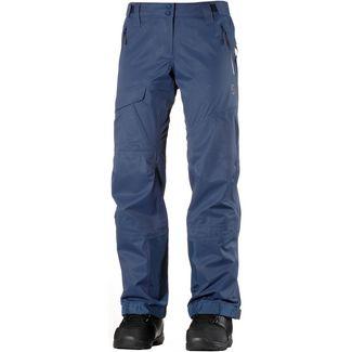 SCOTT Vertic 3 L Snowboardhose Damen denim blue