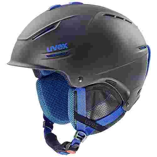 Uvex p1us pro Skihelm black-blue