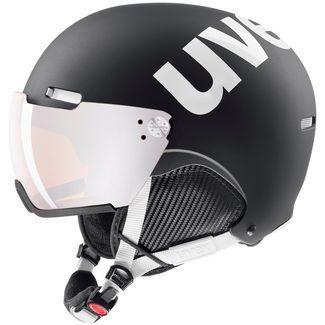 Uvex hlmt 500 visor Visierhelm black-white mat