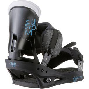 Burton Custom Snowboardbindung Herren black-multi