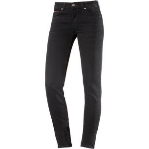 Tommy Jeans Low rise Skinny Jeans Skinny Fit Jeans Damen galway-black-stretch