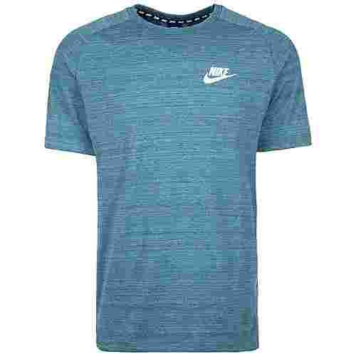 Nike Advance 15 T-Shirt Herren blau