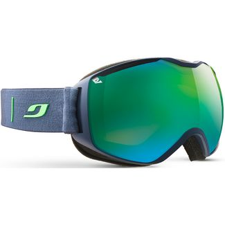 Julbo QUANTUM KAT 3 Skibrille dunkelblau/grün